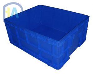 Thùng nhựa đặc DCS102 (sóng nhựa bít) giá rẻ