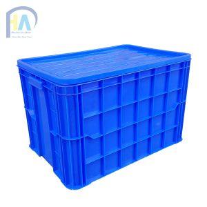 Thùng nhựa đặc (sóng nhựa bít) HS026 giá rẻ