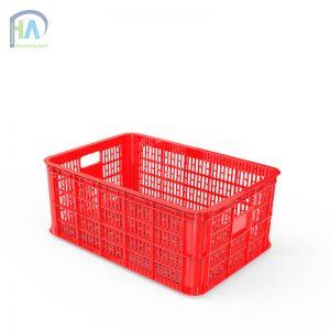 Thùng nhựa rỗng  2T5 (sóng nhựa hở) cao cấp, giá rẻ