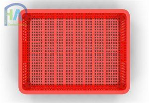 Thùng nhựa rỗng(sóng nhựa hở) HS010 cao cấp