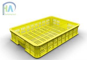 Thùng nhựa rỗng(sóng nhựa hở) HS010 giá ưu đãi