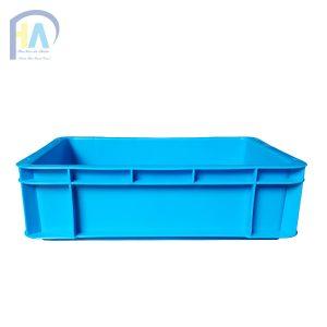 Thùng nhựa đặc (sóng nhựa bít) B12 cạnh dài