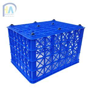 Thùng nhựa rỗng(sóng nhựa hở) HS022 giá rẻ