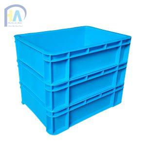 Thùng nhựa đặc (sóng nhựa bít) B12 giá rẻ