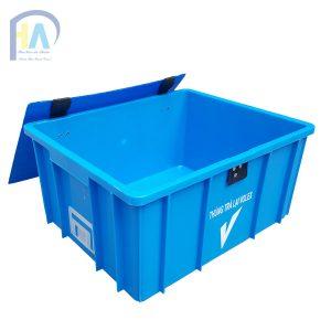 Thùng nhựa đặc (sóng nhựa bít) B10 giá rẻ