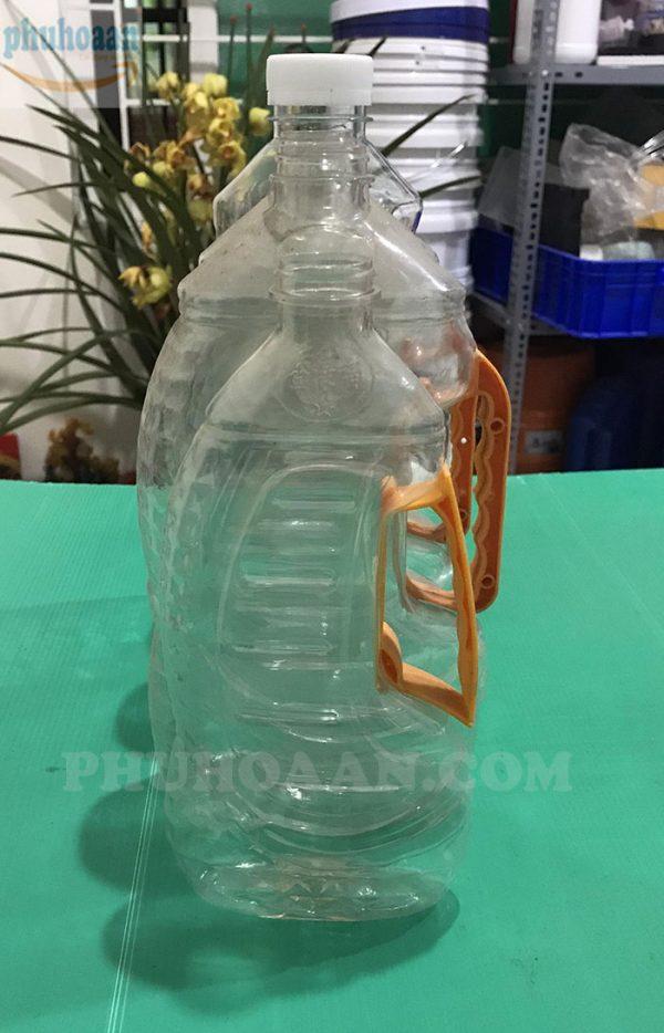Chai nhựa đựng dầu ăn1,05l - 1,2l - 1,4l - 1,6l - 1,8l