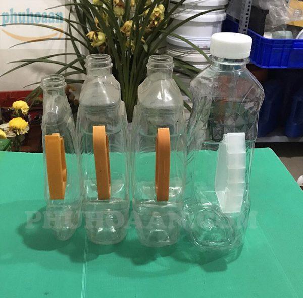 Chai nhựa đựng dầu ăn1,05l - 1,2l - 1,4l - 1,6l - 1,8l Phú Hòa An
