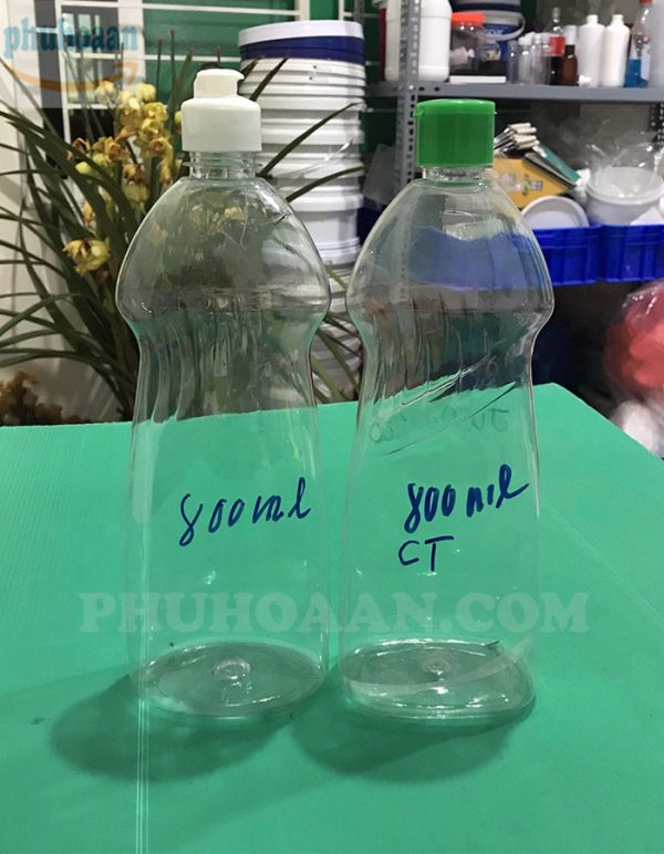 Chai nước rửa chén 400ml - 800ml Phú Hòa An
