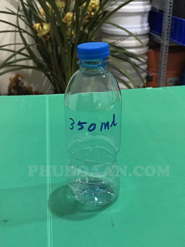 Vỏ chai nước khoáng 300ml - 350ml - 500ml Phú Hòa An