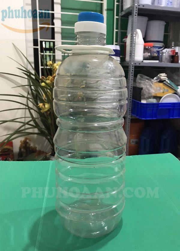 Chai tròn đựng dầu ăn 3l - 5l Phú Hòa An